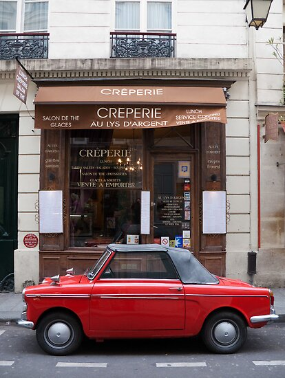 Autobianchi in Paris by Flo Smith