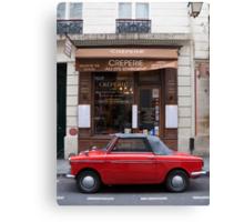 Autobianchi in Paris Canvas Print