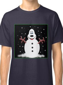 Happy Christmas Snoooowman Classic T-Shirt