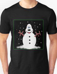 Happy Christmas Snoooowman Unisex T-Shirt