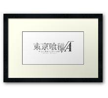 Tokyo Ghoul Season 2 Logo Framed Print