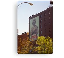 Retro Nurse poster, New York Canvas Print