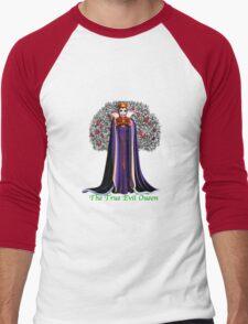 The True Evil Queen Men's Baseball ¾ T-Shirt