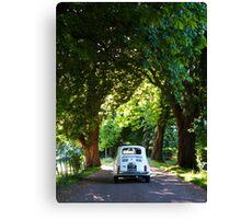 Cinquecento Fiat 500 Canvas Print