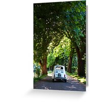 Cinquecento Fiat 500 Greeting Card