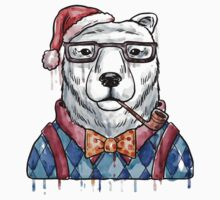 Bear Christmas & New Year Kids Clothes