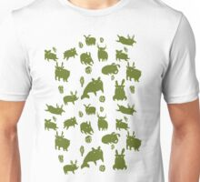 Weebeasts (olive and light green) T-Shirt