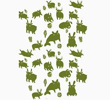 Weebeasts (olive and light green) Unisex T-Shirt