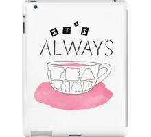 Alice in Wonderland: It's always tea time iPad Case/Skin