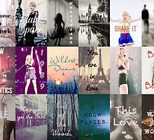 Taylor Swift 1989 Song Titles  by ashy1318