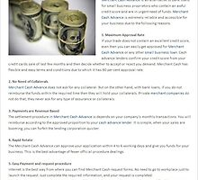 Oracle Payment Systems Reviews-Advantages Of Merchant Cash Advance by oraclepayment