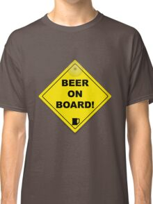 Beer on Board Classic T-Shirt