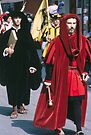 Important Man, C16 Costume Parade Florence Italy 19840708 0042 by Fred Mitchell