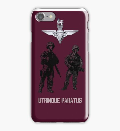 """""""Utrinque Paratus""""- Ready for Anything iPhone Case/Skin"""