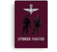 """""""Utrinque Paratus""""- Ready for Anything Canvas Print"""