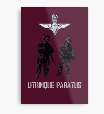 """""""Utrinque Paratus""""- Ready for Anything Metal Print"""