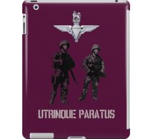 """Utrinque Paratus""- Ready for Anything iPad Case/Skin"
