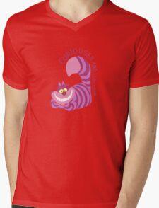 Curiouser and Curiouser!  Mens V-Neck T-Shirt