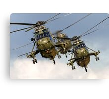 Westland Sea King HC.4 Helicopters Canvas Print