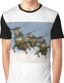 Westland Sea King HC.4 Helicopters Graphic T-Shirt