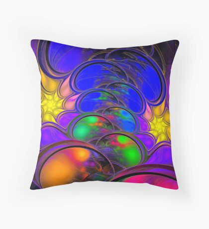 My Stars in the Night Sky Throw Pillow