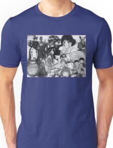 Studio Ghibli montage Unisex T-Shirt