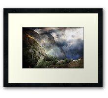 The Widows Glen. Framed Print