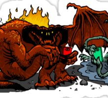 Balrog and Watcher in the Water Sticker