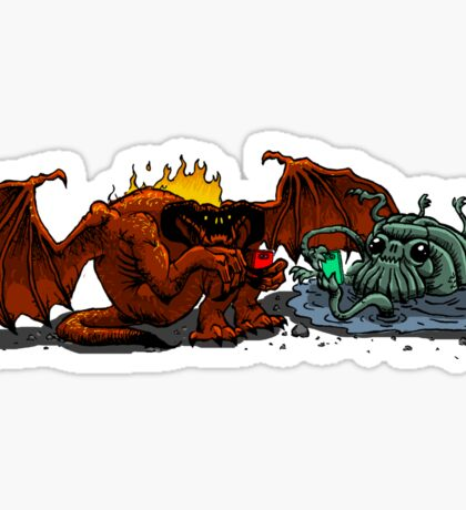 Moria Monsters Texting Sticker