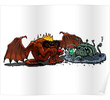 Balrog and Watcher in the Water Poster