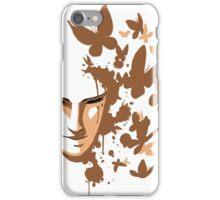 Butterflies - Gold iPhone Case/Skin