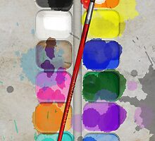 Artists Painting Set (Used) – iPhone 5 Case by Alisdair Binning