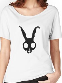 Frank Skull, Inverted Block Version Women's Relaxed Fit T-Shirt