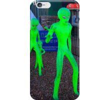 Green Men iPhone Case/Skin