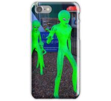 Green Men iPhone Case/Skin