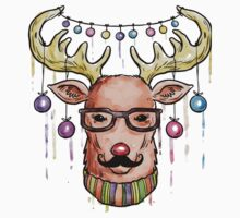 Deer Christmas & New Year Kids Clothes