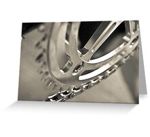 Chainring Greeting Card