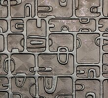 Aztec Glass by Al Bourassa