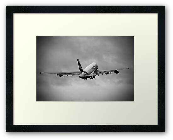 Emirates Airbus A380-861 by Colin Shepherd