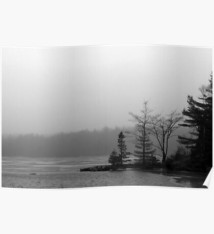 Lake Mists Poster