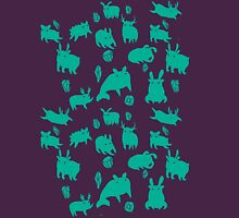 Weebeasts (teal) Unisex T-Shirt