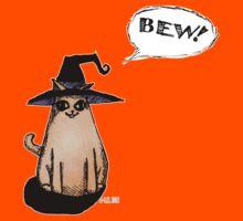 Witch Kitty Says BEW! Kids Tee