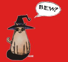 Witch Kitty Says BEW! One Piece - Long Sleeve