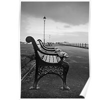 Seafront Bench Poster