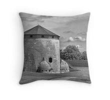 Martello Tower Throw Pillow