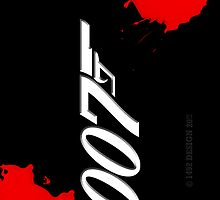 007 Blood_iphone_cover by ANDIBLAIR
