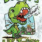Daddy's Little T-Rex by MudgeStudios