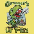 Grammy's Little T-Rex Dino by MudgeStudios