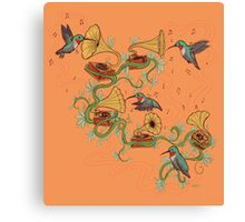 Phono & Fauna Canvas Print