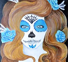 Muerta No. 8 (Day of the Dead Series) by Amanda Christine Hall-Shelton